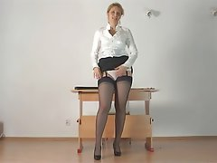 MILF, Old and Young, POV, Softcore, Stockings