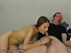 Blowjob, Masturbation, Old and Young, POV