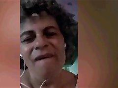 Brazil, Granny, Mature, Webcam