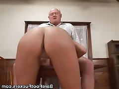 Blowjob, Cumshot, Foot Fetish, Footjob, Old and Young