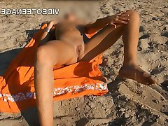 Amateur, Beach, Public, Teen