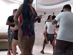 Blowjob, Brunette, Brazil, Orgy