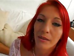 Anal, French, Redhead, Group Sex, Threesome
