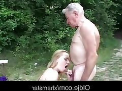 Big Boobs, Blonde, Blowjob, Old and Young